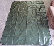 Dark Green Space Blanket