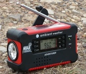 Ambient Weather Radio Flashlight Combo