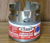 Sterno Can with Blue Hill Stove