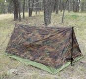 Texsport Pup Tent Setup