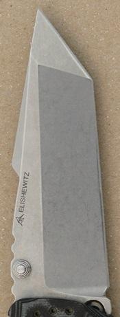 Four Inch Tanto Blade