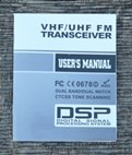 UV-5RA Owners Manual