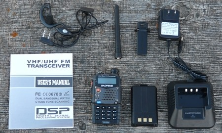 Baofeng UV-5RA with Accessories