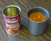 Room for a Large Can of Soup