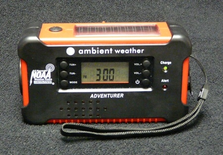 Ambient Weather Emergency Portable Radio