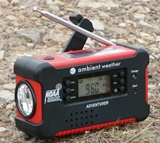 Ambient Weather Radio in Use