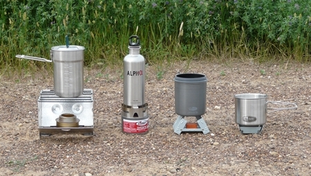 Backing Stoves for a Bug Out Bag
