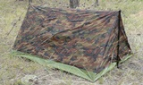 Camouflage Pup Tent
